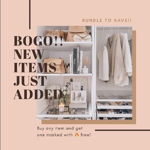 BOGO - New Items Added!